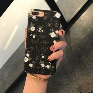 NEW iPhone 7/8 White Flower Case